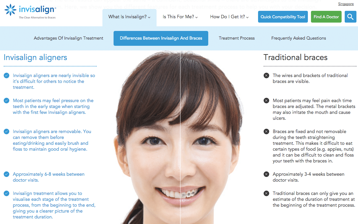 invisalign comparison